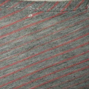 Papaya Tops - Papaya gray and pink striped top